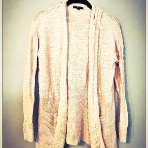 NWOT AMERICAN EAGLE MID-LENGTH HOODED CARDIGAN